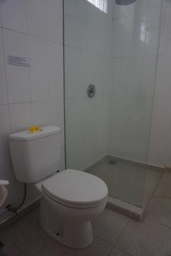Sandat enclosed, ensuite bathroom.