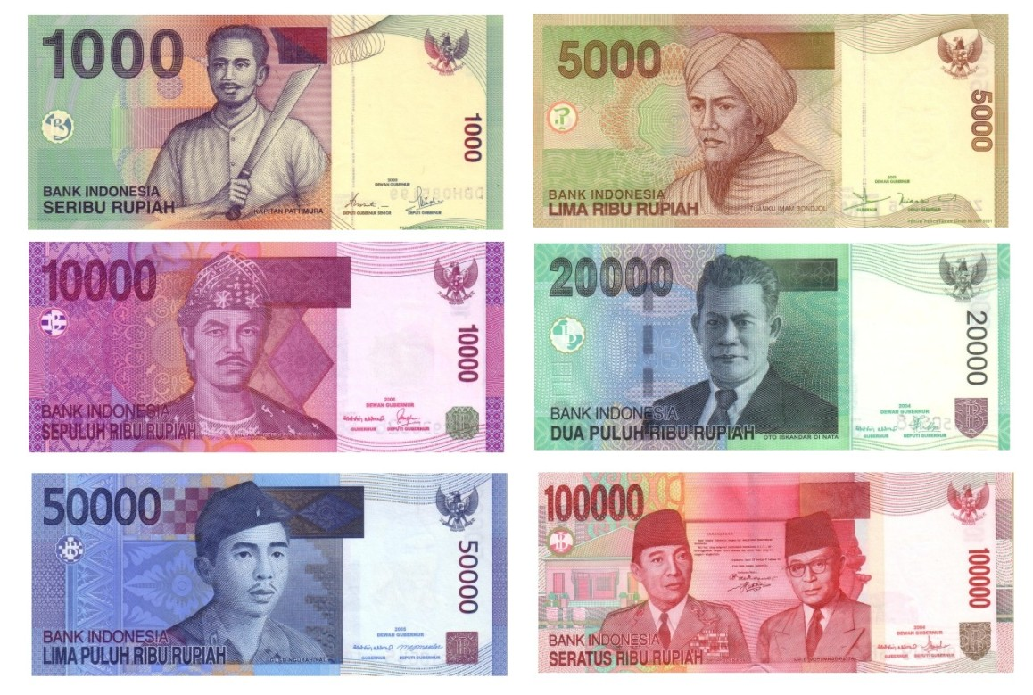 Bed and Breakfast in Ubud - Indonesian Bank Note