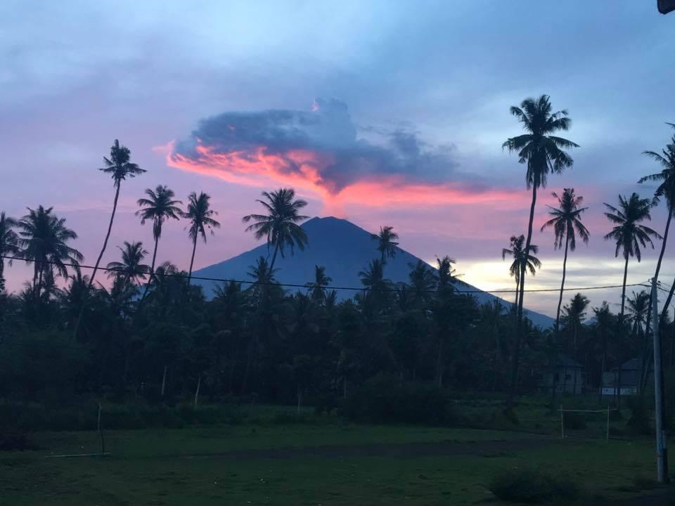 Volcano update: Mount Agung 12th December2017