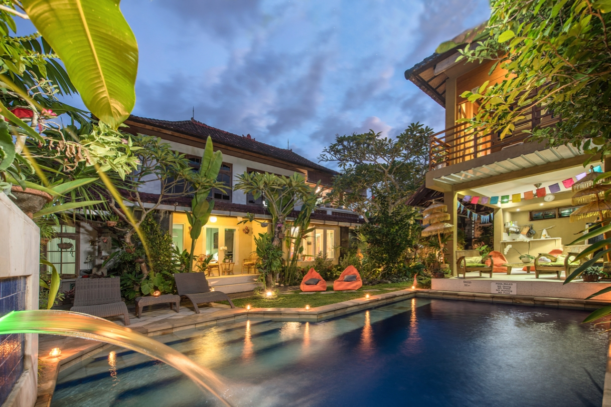 "Angel House Ubud: ""Welcoming guests the World over"""
