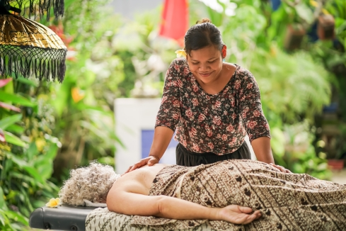 Relax with our professional therapeutic massage service.